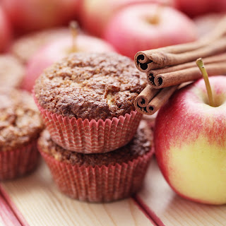 Diabetes-Friendly Apple & Spice Muffins.