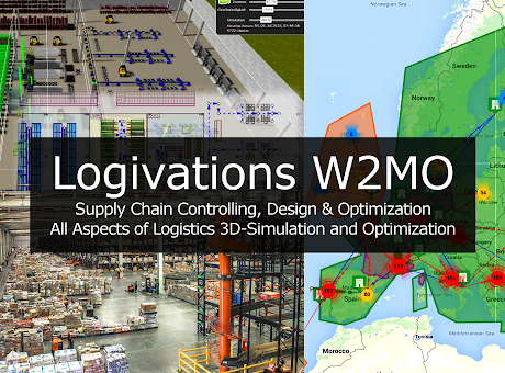 W2MO: Logistics Design, Optimization, 3D