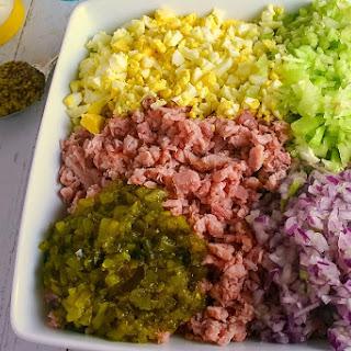 Deviled Ham Salad