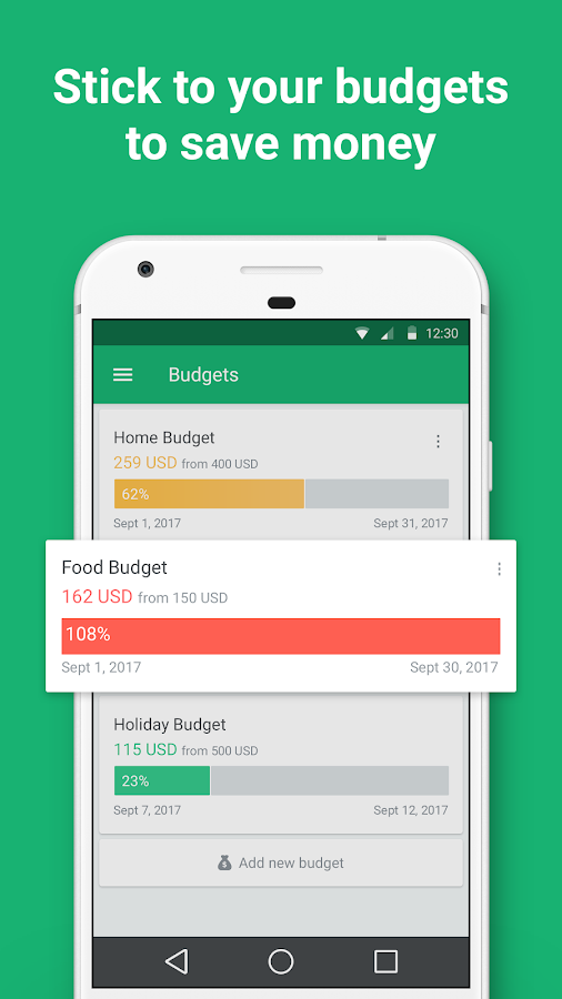 Spendee - Budget & Money Tracker with Bank Sync- screenshot