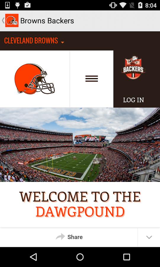 Cleveland Browns- screenshot