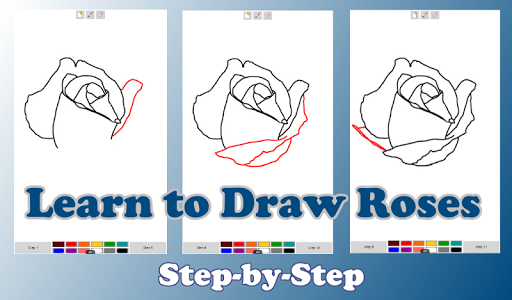 How to Draw a Rose Step byStep