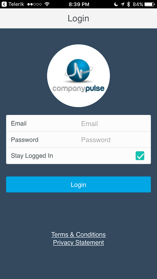 Company Pulse Mobile- screenshot