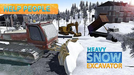 ショベルローダー雪トラック