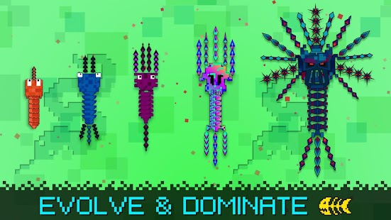 Pixel sword fish io android apps on google play for Fish io games