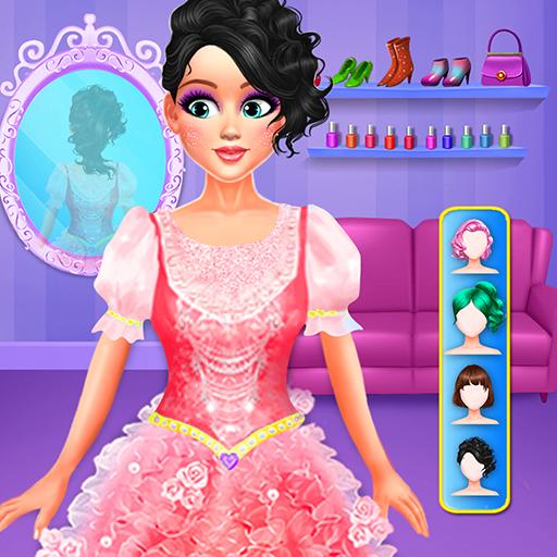 Moda Menina Beleza Salon Spa Makeover