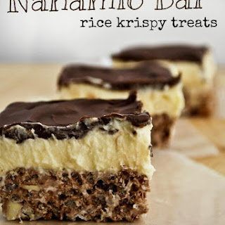 Nanaimo Bar Rice Krispy Treats