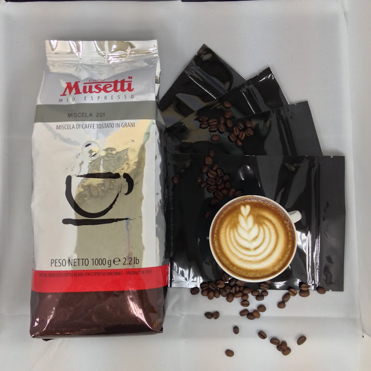Miscela 201 Coffee Beans by Mussetti (1kg) + Bags by ECIATTO GROUP SDN BHD
