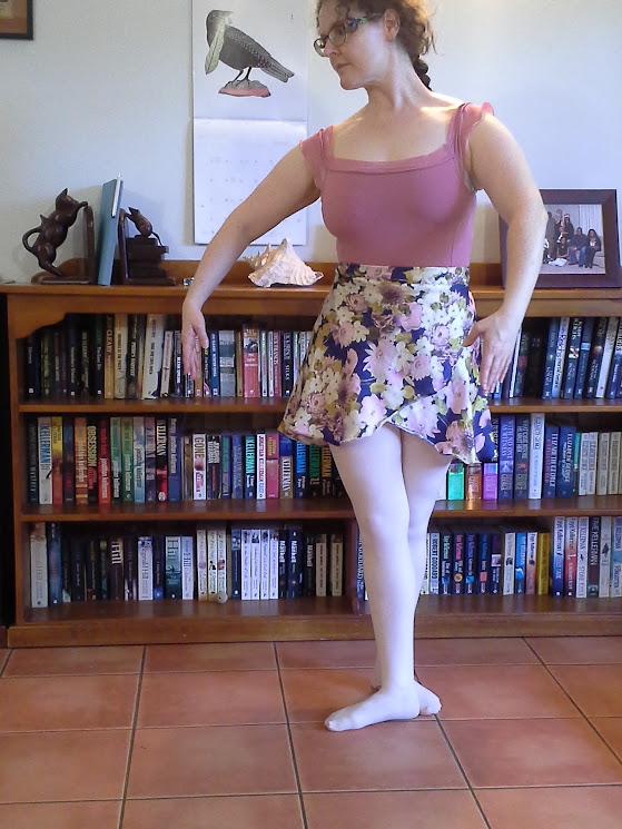 Pretty ballet skirts.