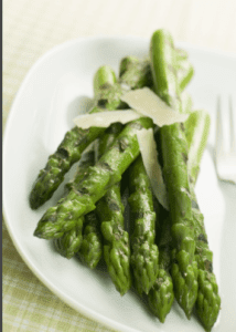 Asparagus with Parmesan Crust- nuwave oven recipe -Vegetables -3