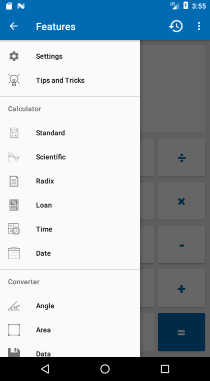 NT Calculator - Extensive Calculator Pro Screenshot 0