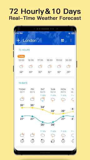 Weather - Live weather & Radar app 1.0.3.8 Screenshots 3