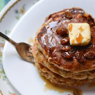 Joy's Oatmeal Cookie Pancakes {Joy the Baker Cookbook}
