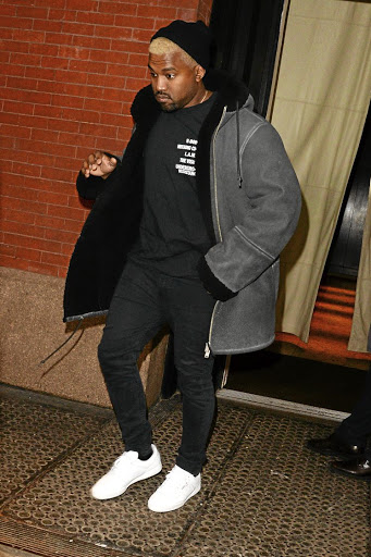 Kanye is now dressing like the father-of-three he is.