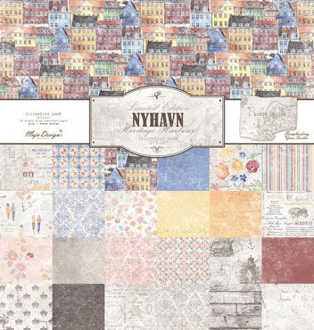 Maj design 12X12 Collection Pack - Nyhavn