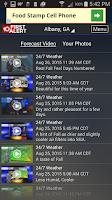 Screenshot of WALB 24/7 Weather