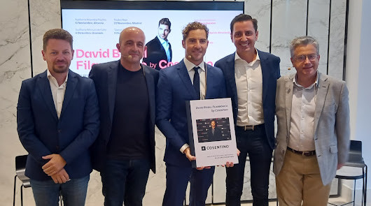 David Bisbal Filarmónico by Cosentino: nueva gira con escala en Almería