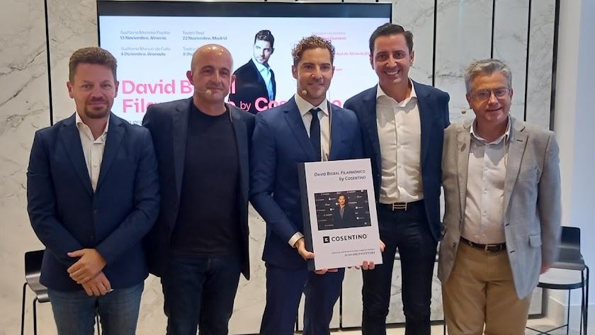 Presentación del proyecto que tuvo lugar en Cosentino City Madrid.