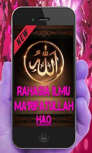 Rahasia Ilmu Ma'Rifatullah Haq Lengkap - náhled