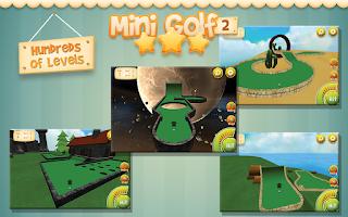 Screenshot of Mini Golf Stars 2