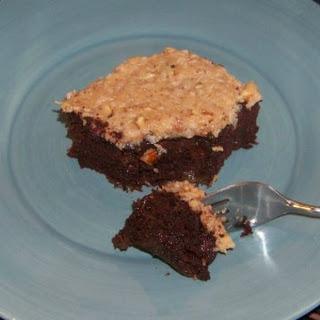 German Chocolate Zucchini Cake - Gluten Free