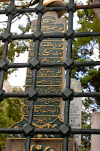 Photo: Cemetary at the Mosque of Suleyman the Magnificent