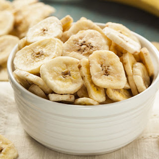 Homemade Banana Chips.