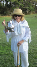 Photo: Jane with the SCC Padwee Trophy