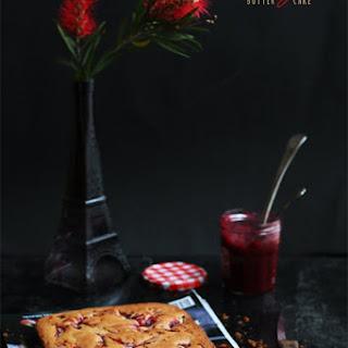 Rhubarb Butter Cake Recipes