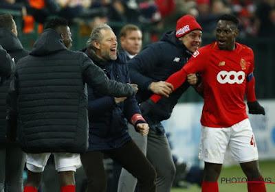 """Mpoku absent au Bosuil : """"J'espère qu'avec l'évolution del'équipe, on pourrapallier à son absence"""""""