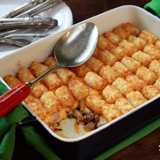 Paige's Tater Tot Casserole.