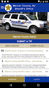 Mercer County Sheriff's Office- screenshot thumbnail