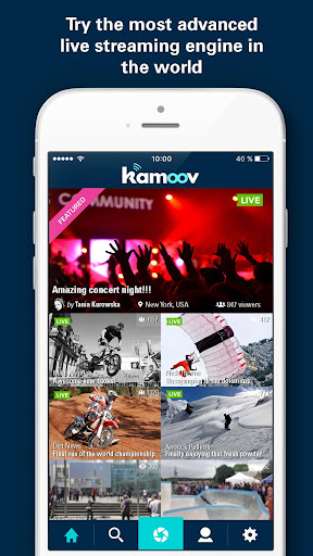 Kamoov - HD Livestreaming 1.11 screenshots 1
