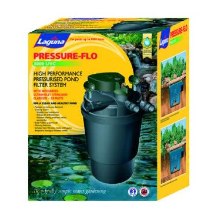 Laguna Pressure-Flo 8000 Dammfilter UVC