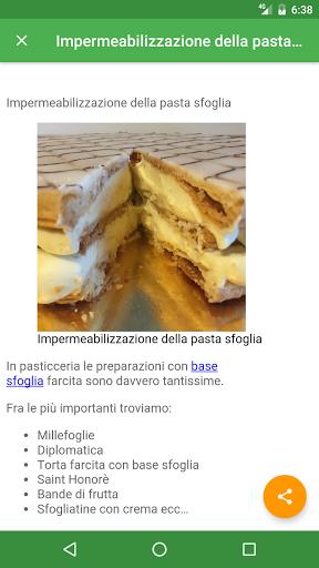 ricette pasticceria