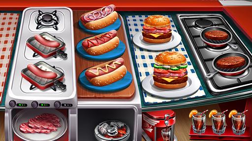 Code Triche Cuisine Urbaine 🍔 Jeux De Restaurant apk mod screenshots 2