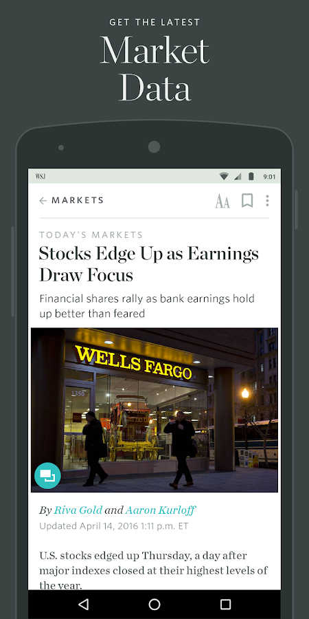The Wall Street Journal: News - 屏幕截图