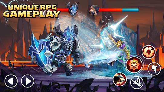 Tiny Gladiators 2: Heroes Duels – RPG Battle Arena Apk Download For Android and Iphone 1