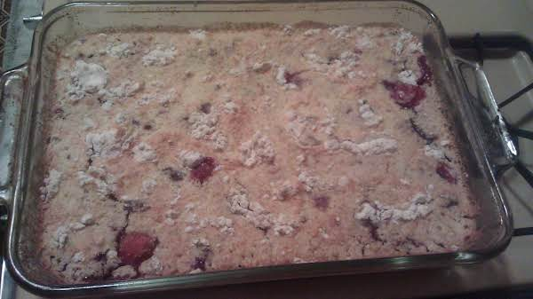 Summertime Berry Dump Cake