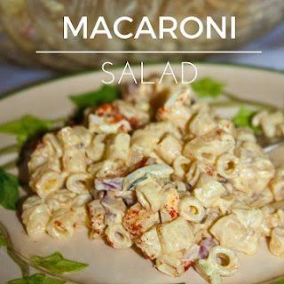 Pasta of the Month – Macaroni Salad