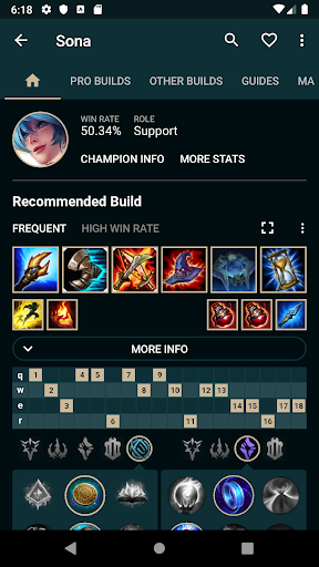 Builds for LoL 1.29.5 screenshots 2