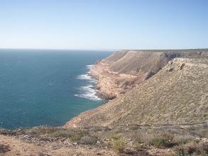 Photo: cliffs south of Kalbarri