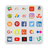 Tutti i social media in un'unica app icon