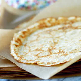 Whole Wheat Pastry Flour Crepes.