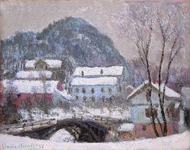 """Photo: Claude Monet, """"Il villaggio di Sandviken"""" (1895)"""