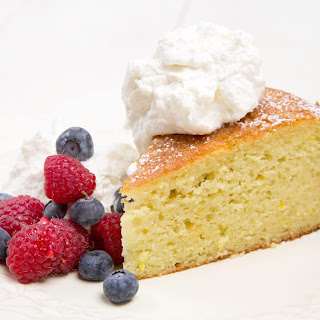 Orange Yogurt Cake.