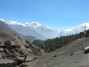 Photo: Point de vue 3800 m: Pisang Peak