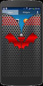 Metal Bat Zip Screen Lock screenshot 2