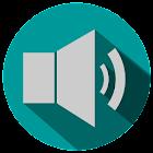 Sound Profile +volume schedule icon
