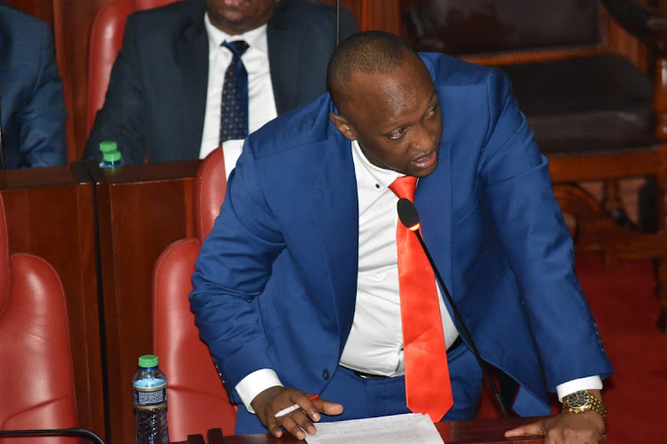 Nairobi County Assembly Majority Leader Abdi Ibrahim Hassan